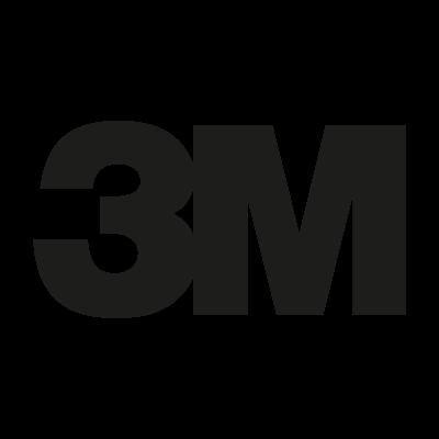 3M Black vector logo