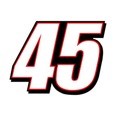 45 Kyle Petty Racing vector logo
