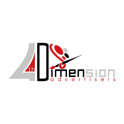 4th Dimension Advertisers vector logo