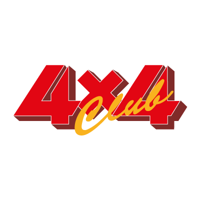 4x4 Club vector logo