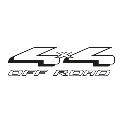 4x4 Off Road vector logo