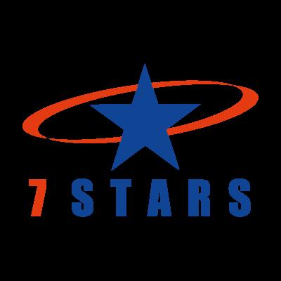 7 Stars vector logo