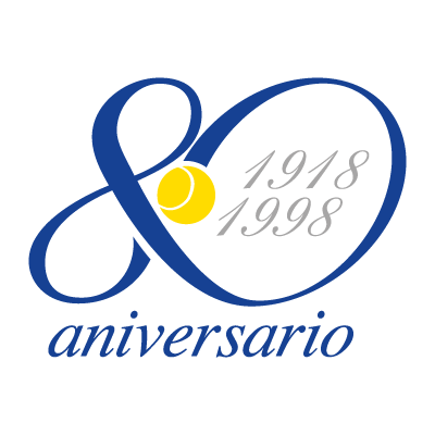80 aniversario vector logo