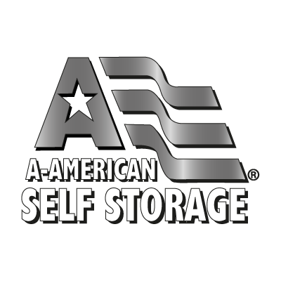 A American Self Storage vector logo