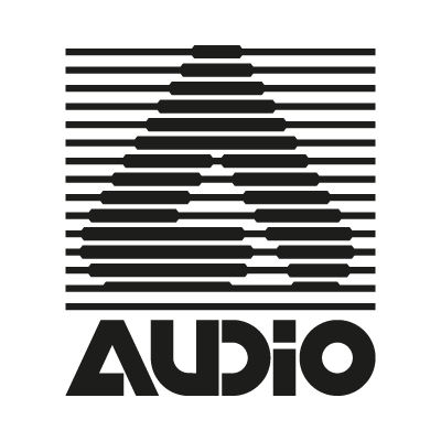 A Audio vector logo