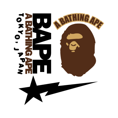 A Bathing Ape vector logo