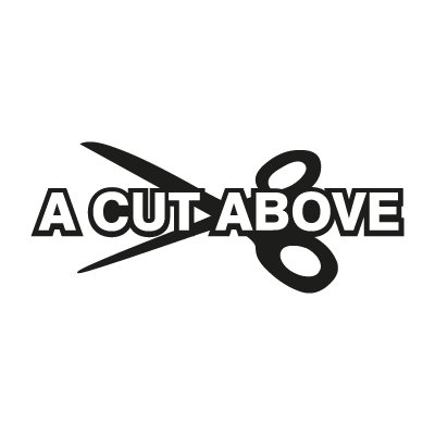 A Cut Above vector logo