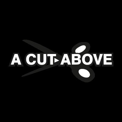 A Cut Above vector logo