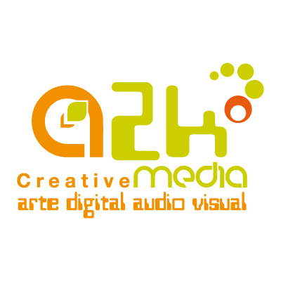 A2k creative media vector logo