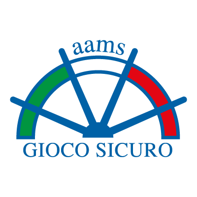 AAMS Timone Gioco Sicuro vector logo