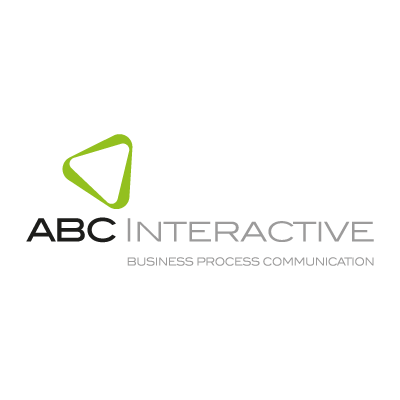 Abc interactive vector logo