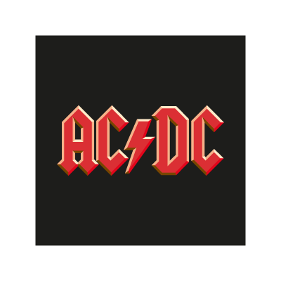 AC/DC Band vector logo