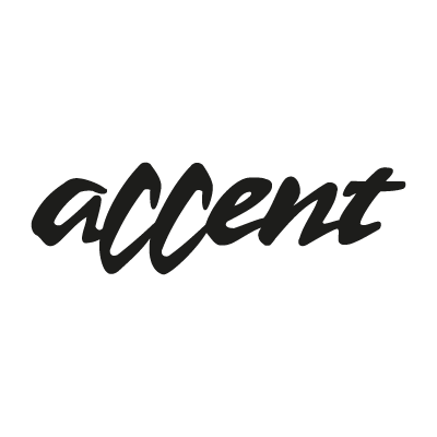 Accent vector logo