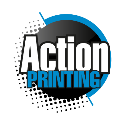 Action Printing vector logo