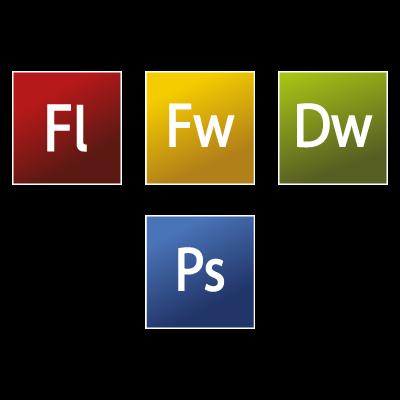Adobe CS3 Web Premium vector logo