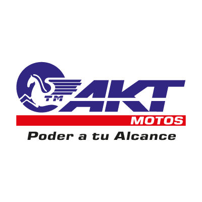 AKT Motos vector logo