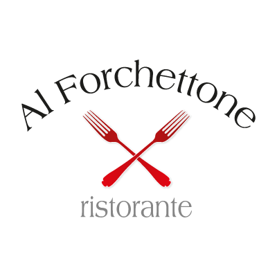 Al forchettone vector logo