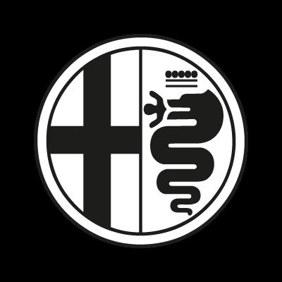 Alfa Romeo Black vector logo