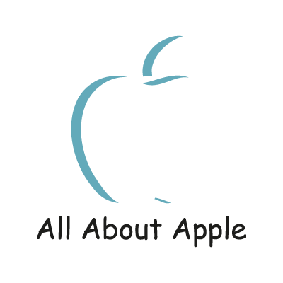 All About Apple vector logo