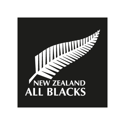 All Blacks New Zealand vector logo