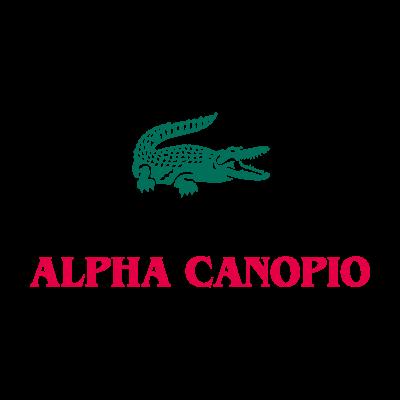 Alpha lacoste vector logo