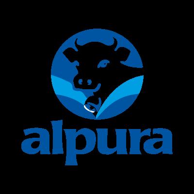 Alpura vector logo