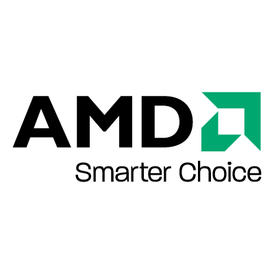 AMD Black vector logo