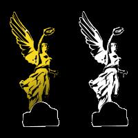 Angel de la independencia vector logo free download