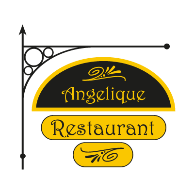 Angelique Restaurant vector logo
