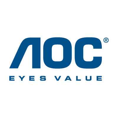 AOC Monitors vector logo
