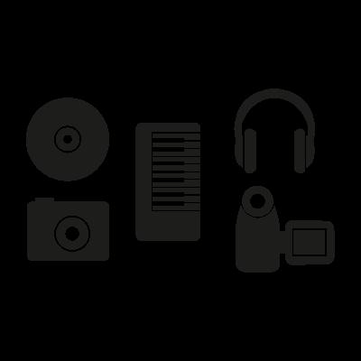 Apple iLife 2005 vector logo