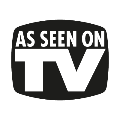 As seen on TV (.EPS) vector logo