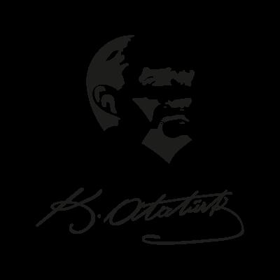 Ataturk vector logo