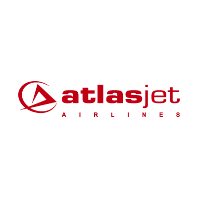 Atlasjet airlines vector logo