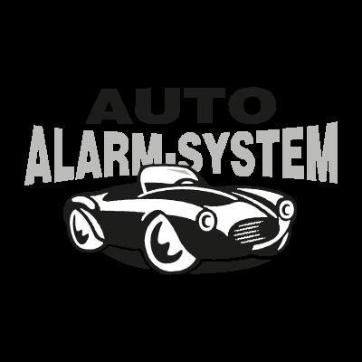 Auto Alarm System vector logo