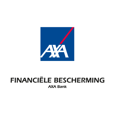 AXA bank vector logo