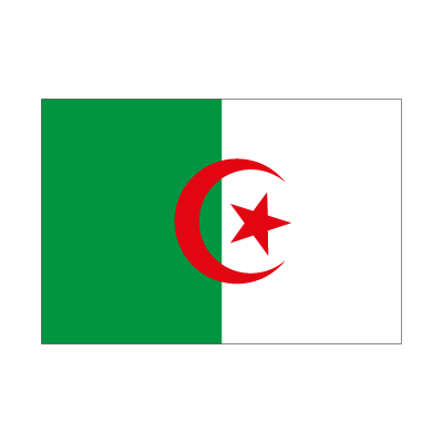 Flag of Algeria vector logo