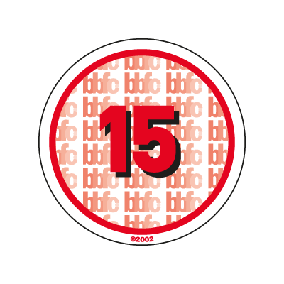 BBFC 15 Certificate UK vector logo