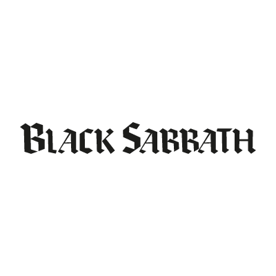 Black Sabbath Black vector logo