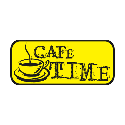 CAFE TIME vector logo