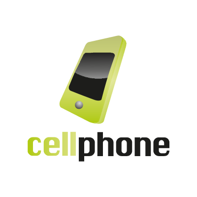 Cell phone logo