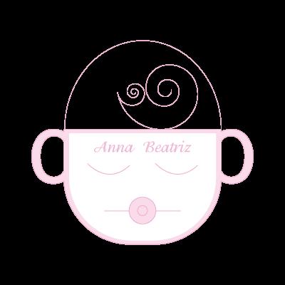 Cha de Bebe vector logo