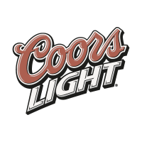 Coors Light Slant vector logo