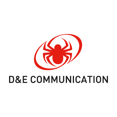 D&E Communication logo