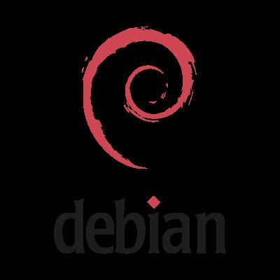 Debian (.EPS) vector logo