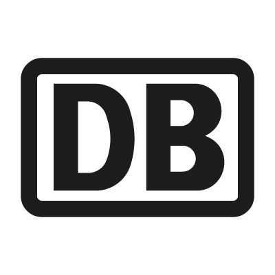 Deutsche Bahn AG Black vector logo