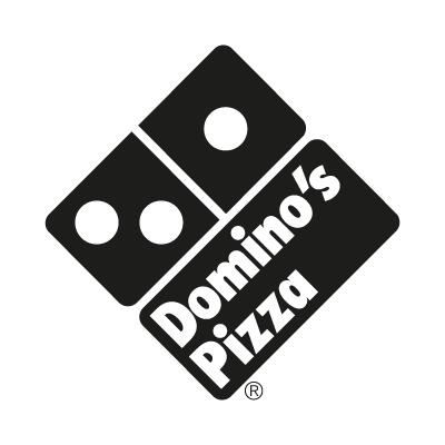 Domino's Pizza Black vector logo