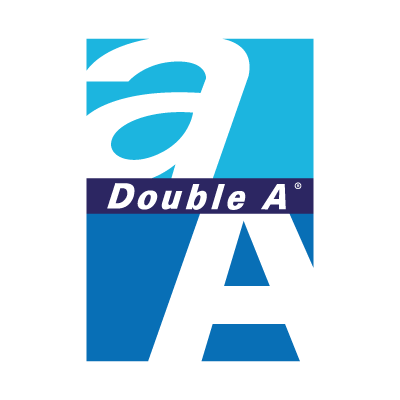 Double A vector logo
