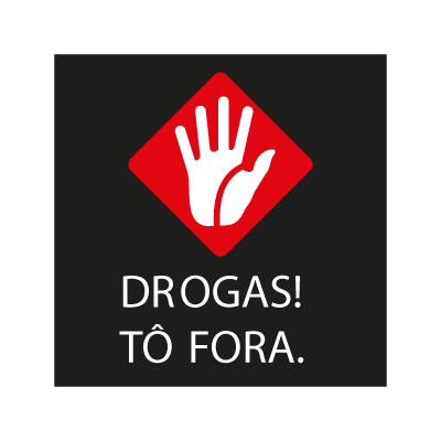 Drogas ! To Fora vector logo