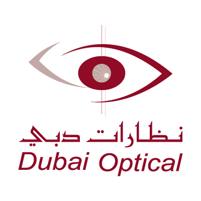 Dubai Optical vector logo
